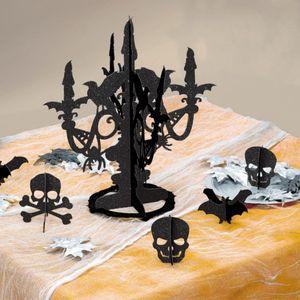 Kerzenständer Glitzer Deko Set