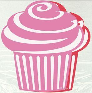 10 kleine Pappschilder Muffin