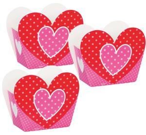 8 kleine Geschenk Schachteln mit Herzchen