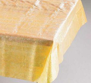Tischdecke Gold Changierend