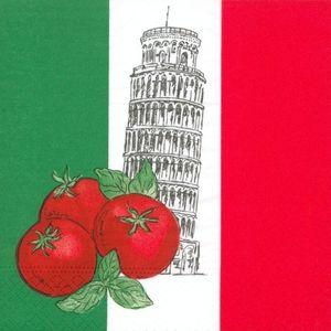 50 Servietten Italien