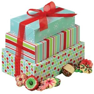 3 Geschenk Boxen für Gebäck