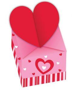 4 Mini Boxen Herzchen