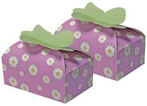 2 Geschenk Verpackungen Blumen