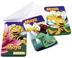 Einladungskarten Biene Maja