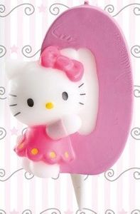 Hello Kitty Kerze 0