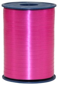 Geschenk oder Ballonband Pink 5mm 500 Meter Rolle