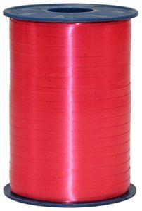 Geschenk oder Ballonband Rot 5mm 500 Meter Rolle – Bild 1
