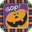 8 Teller Kürbis Boo!