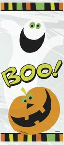 20 Zellophantüten Kürbis Boo!