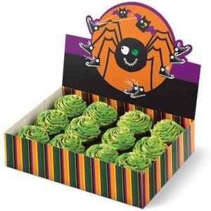 Große Muffin Gebäck Box Spinne