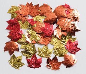 Herbstblätter Konfetti