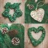 Servietten Christmas Garlands