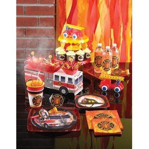 8 Party Tüten Feuerwehr Alarm – Bild 3