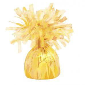 Ballongewicht Folie Gelb