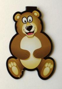 Brauner Bär - Lesezeichen-Clip - Braunbär