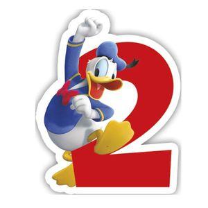 Micky Zahlenkerze 2