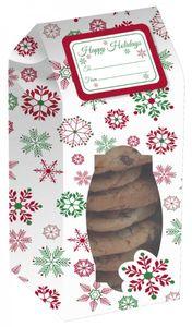 6 Gebäck Schachteln Weihnachten