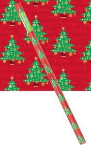 Weihnachts Geschenkpapier Tannenbäume