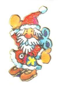 Weihnachtsmann Mini Sticker - ItSticks