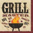 18 Servietten Grill Master