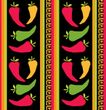 Tischdecke Scharfe Chili Fiesta