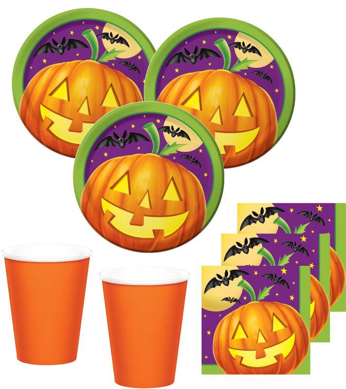 32 Teile Kleines Fingerfood Halloween Deko Set Kurbis Licht 8 Kinder Kids Party World