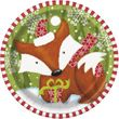 32 Teile Weihnachten der Waldtiere Party Deko Set 8 Personen