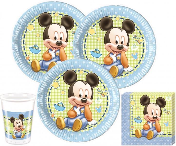 52 Teile Disney Baby Micky Party Deko Set Fur 16 Personen