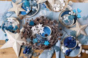 500g Farbsand dunkelblau fein