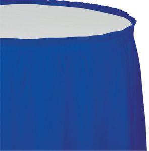 Plastik Tischrock Cobalt Blau