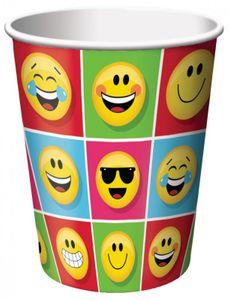 32 Teile Smiley Emoticons Basis Party Deko Set für 8 Personen – Bild 3