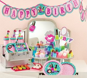 8 Party Tüten Beauty Spa Topmodel – Bild 3
