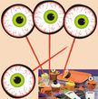 8 Halloween Muffin Picker Augen