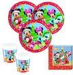 52 Teile Set Disney Micky und Minnie Weihnachten für 16 Personen