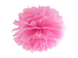 Papier Dekoball Pink 25 cm Durchmesser PomPom