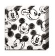 150 Teile Disney Micky Maus Sketch Party Deko Set für 50 Personen