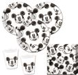 75 Teile Disney Micky Maus Sketch Party Deko Set für 25 Personen