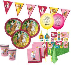 XXL 55 Teile Bibi und Tina Party Deko Set - für 8 Kinder Geburtstag – Bild 1