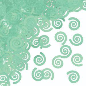 Konfetti Swirls in Mint