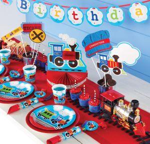 16 Geburtstags Servietten Eisenbahn Party – Bild 3
