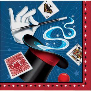 16 Servietten Magier und Zauberer