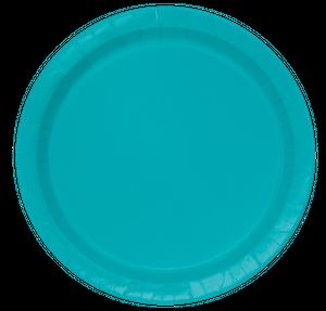 8 Teller Karibik Blau  – Bild 1