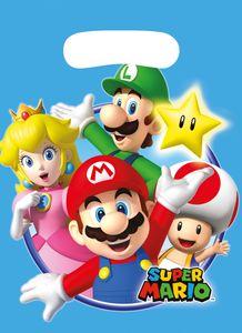 8 Party Tüten Super Mario