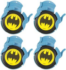 4 Batman Mini Disc Shooter