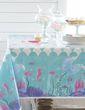 Glitzer Meerjungfrau Tischdecke