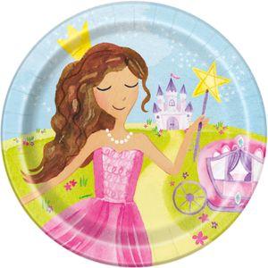 8 Teller Märchen Prinzessin