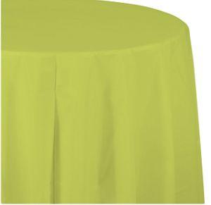 Runde Tischdecke Neon Grün