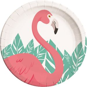 8 Teller Flamingo Party