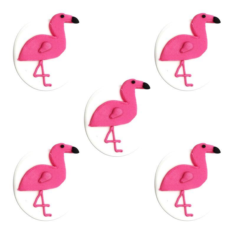 5 zuckerfiguren pinke flamingo. Black Bedroom Furniture Sets. Home Design Ideas